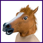 Creepy Horse Mask