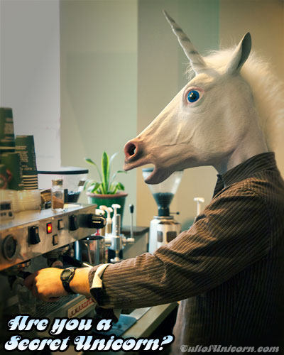 Unicorns make the best coffee!
